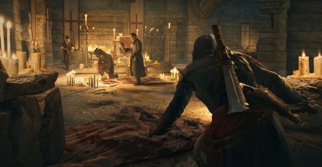 Assassin's Creed Unity Crouch